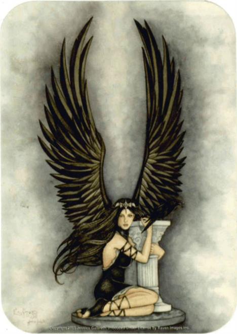 """Jessica Galbreth - Enigma Fairy  Sticker - 2 1/2"""" X 3 3/4"""""""