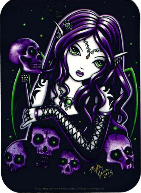 "Belladonna Fairy  - Myka Jelina - Sticker - 2 1/2"" X 3 3/4"""