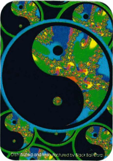 """Yin Yang Fusion - Mini Sticker - 2"""" X 2 3/4"""""""