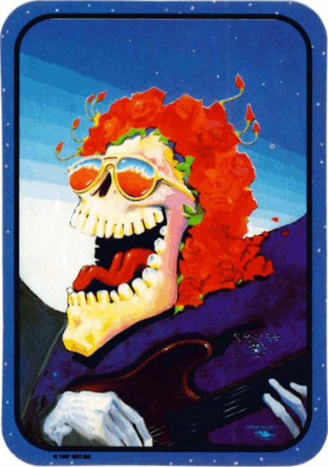 """Laughing Skeleton Sticker - 2 1/2"""" X 3 3/4"""""""