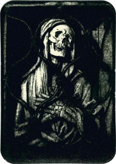 """Gates Of Hades Sticker - 2 1/2"""" X 3 3/4"""""""