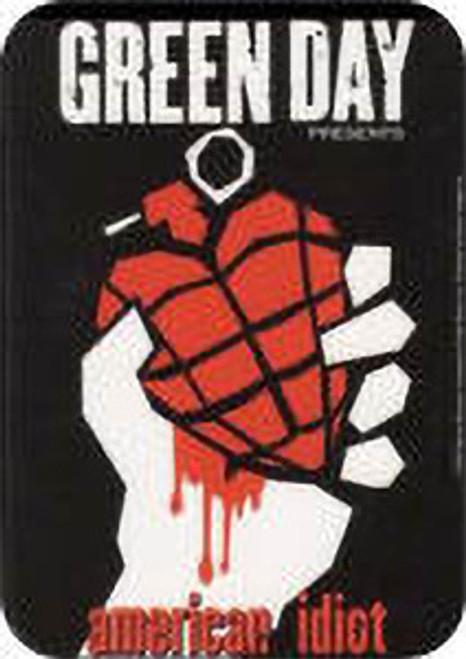 "Green Day - American Idiot 2 - Mini Sticker - 2"" X 2 3/4"""