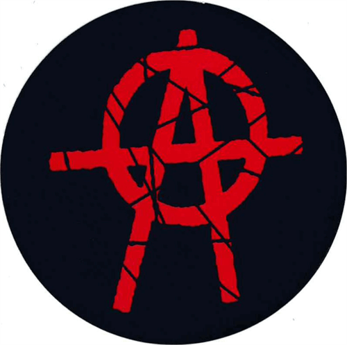"Anarchy - Round Sticker - 2 1/2"" Round"