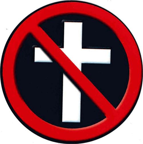 """No Religion - Round Sticker - 2 1/2"""" Round"""
