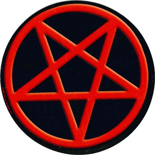 """Pentagram Round Sticker - 2 1/2"""" Round"""