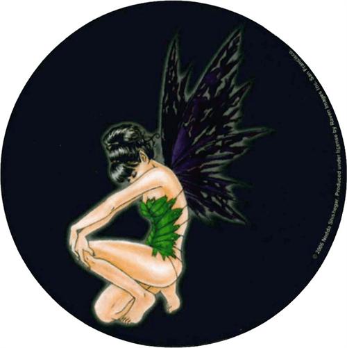 "Nedda Shishegar - Torn Fairy  - Round Sticker - 2 1/2"" Round"