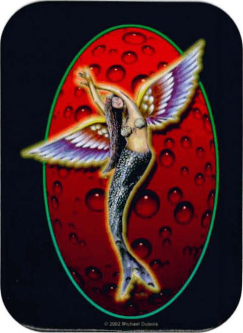 """Sea  Angel   - Mini Sticker - 2"""" X 2 3/4"""""""