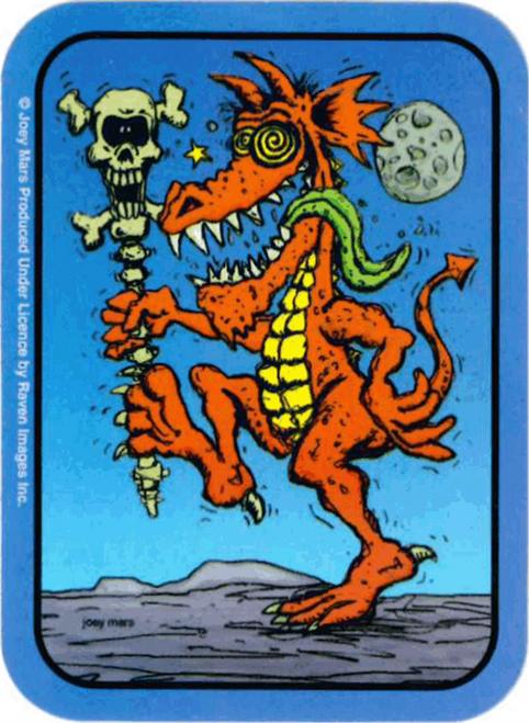 "Dragon Dancer - Mini Sticker - 2"" X 2 3/4"""