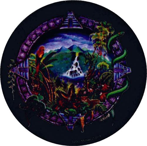 """Rainforest - Mike Dubois  - Round Sticker - 2 1/2"""" Round"""