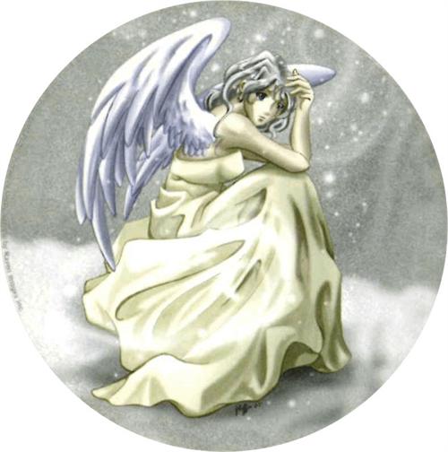 """Snow Fairy  - Round Sticker - 2 1/2"""" Round"""