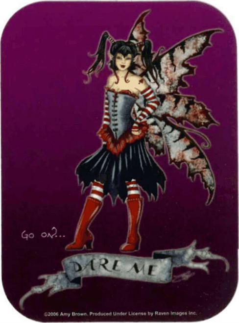 """Dare Me - Amy Brown - Mini Sticker - 2"""" X 2 3/4"""""""