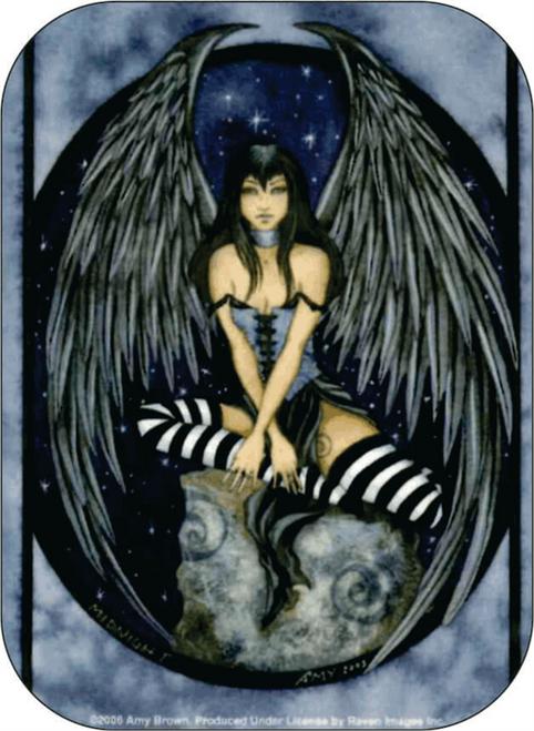 """Midnight - Amy Brown - Mini Sticker - 2"""" X 2 3/4"""""""