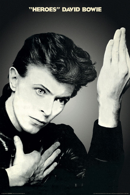 David Bowie - Heroes Poster 24x36 inches