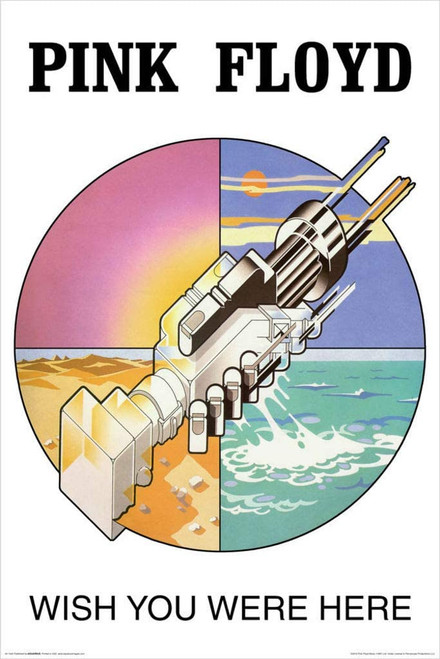 Pink Floyd - Wish You Were Here Symbol Poster 24x36 inches