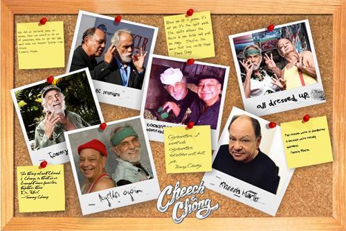 """Cheech & Chong """"Corkboard"""" Poster 36x24"""