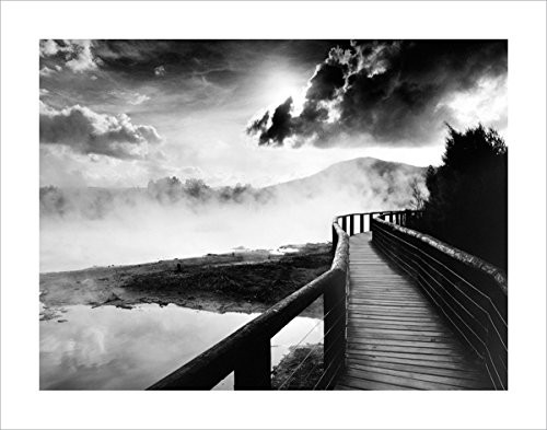 Walkway over the Lake Photography Print 11x14 inches