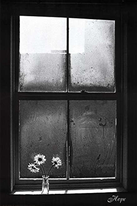 Hope (Window with Flowers) Art Poster Print (24x36)