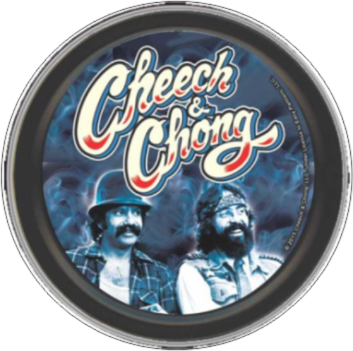 "Stash Tins - Cheech & Chong - Boys In Blue 3.5"" Round Storage Container"