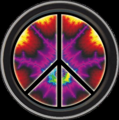 "Stash Tins - Peace Explosion 3.5"" Round Storage Container"