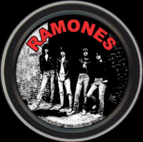 "Stash Tins - Ramones Rocket To Russia 3.5"" Round Storage Container"