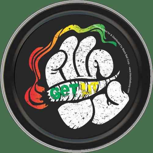 """Stash Tins - Get Lit 3.5"""" Round Storage Container"""