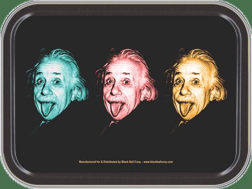 """Stash Tins - Einstein Colors Storage Container 4.37"""" L x 3.5"""" W x 1"""" H"""