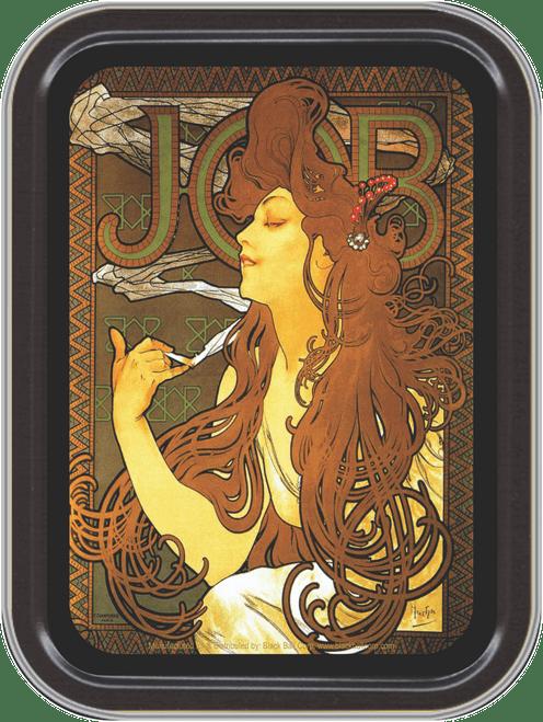 "Stash Tins - JOB Storage Container 4.37"" L x 3.5"" W x 1"" H"
