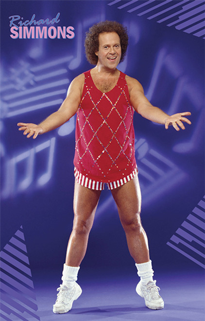 Richard Simmons Poster 24x36 inch