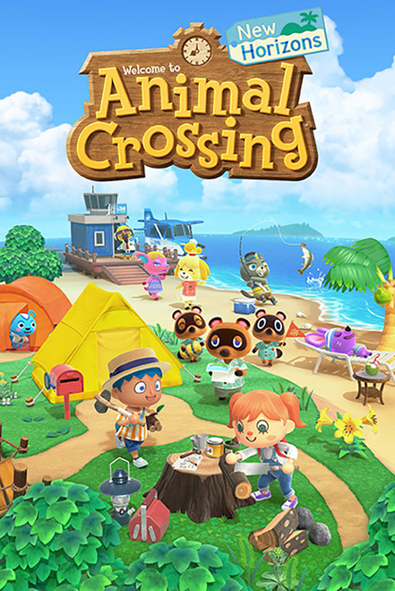Animal Crossing New Horizons Poster 24x36 inch