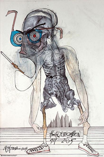 Hunter S. Thompson by Ralph Steadman Poster  (24x36)