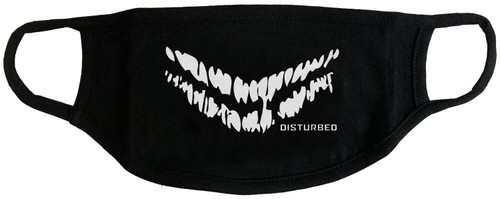 Disturbed Smile Face Cover