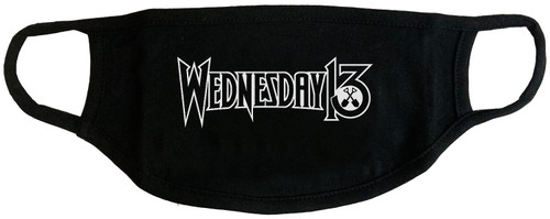 Wednesday 13 Logo Face Cover