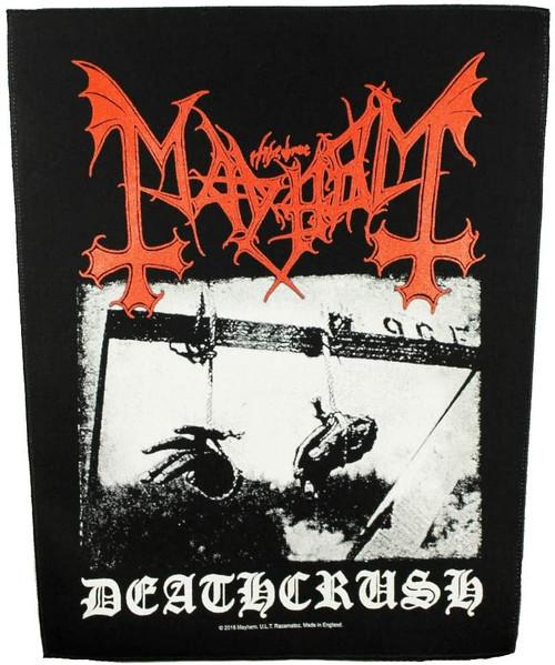 Mayhem 'Deathcrush' Back Patch