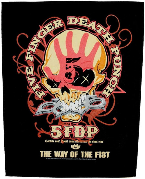 Five Finger Death Punch 'Way Of The Fist' Back Patch