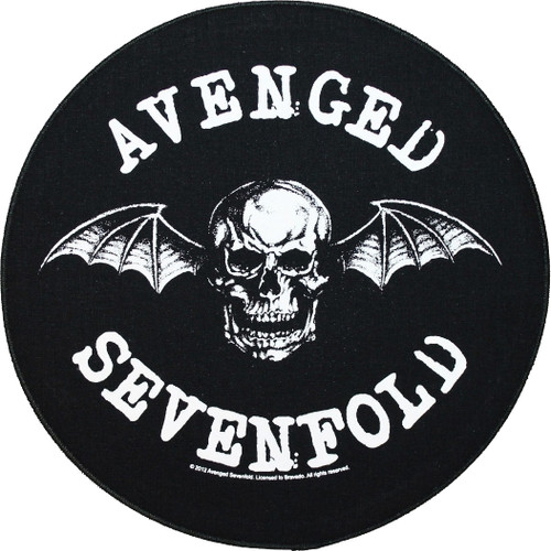 Avenged Sevenfold 'Death Bat' Round Back Patch