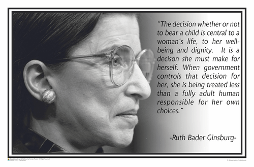 RBG - The Decision Poster - 17x11