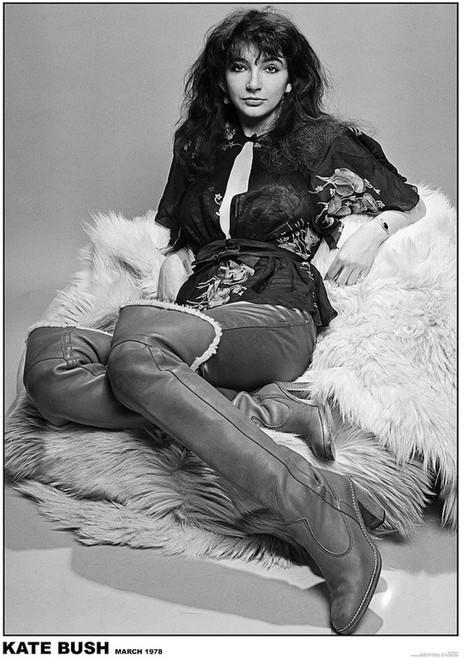 Kate Bush 1978 Poster 23.5x33 inch