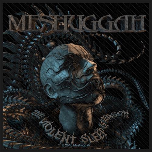"Meshuggah Violent Sleep of Reason - Woven Sew On Patch 4"" x 4"" Image"