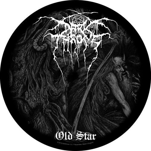 Darkthrone 'Old Star' Round Back Patch