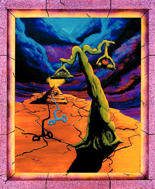 The Balance by Vincent Monaco Non-Flocked Blacklight Poster Image