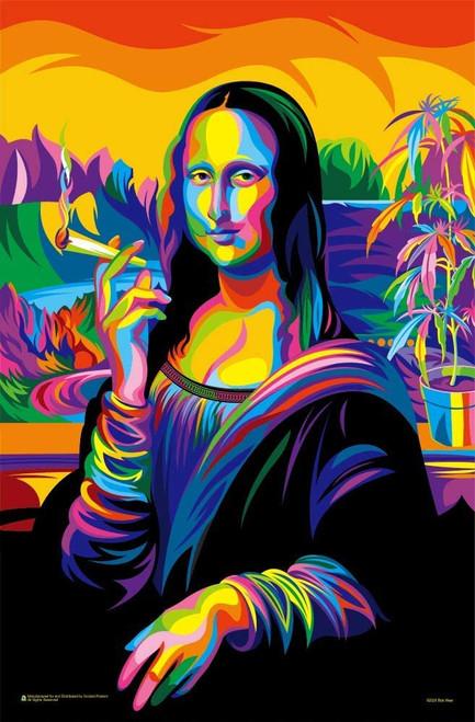 "Mona Lisa Joint Mini Poster - 11"" x 17"""