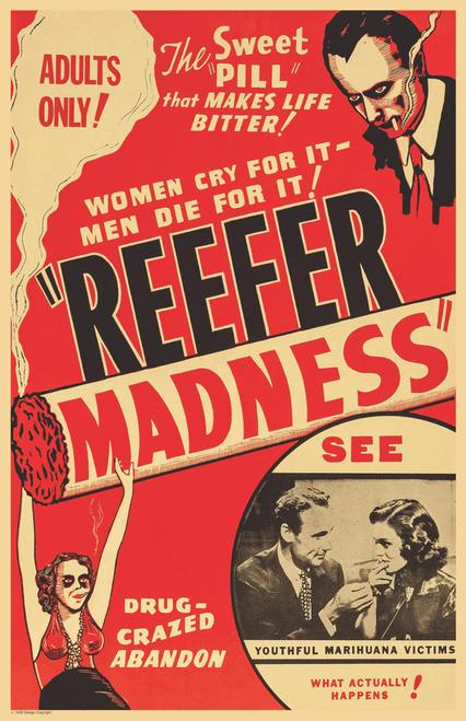 "Reefer Madness Movie Mini Poster- 11"" x 17"""