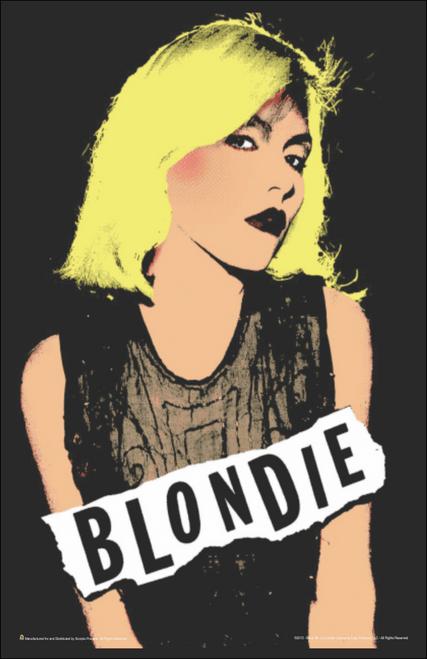 """Blondie Pop Art Mini Poster- 11"""" x 17"""""""