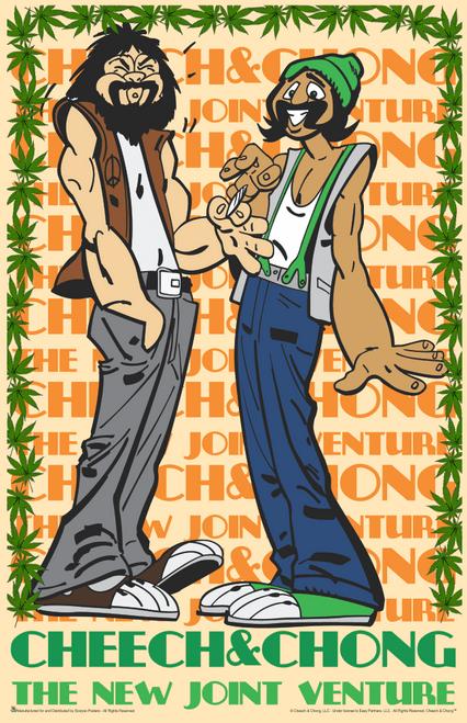 "Cheech & Chong - The New Joint Venture Mini Poster- 11"" x 17"""