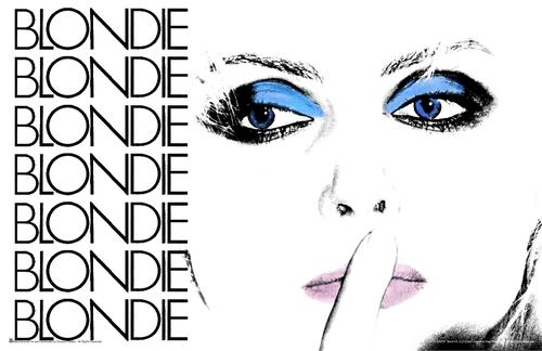"""Blondie - Debbie Harry Eyes Mini Poster- 17"""" x 11"""""""