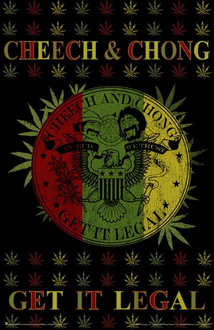 """Cheech & Chong Get It Legal Mini Poster- 11"""" x 17"""""""