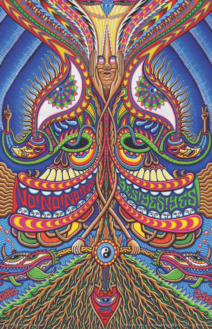 "The Apotheosis of Dualitree by Chris Dyer Art Print Mini Poster- 11"" x 17"""