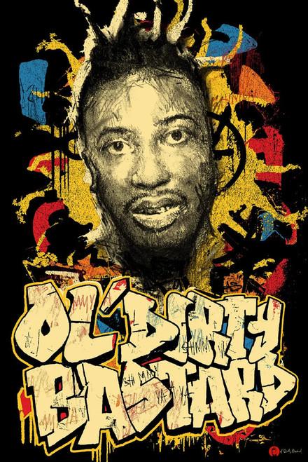 """Ol Dirty Bastard - Graffiti Poster - 24"""" x 36"""""""