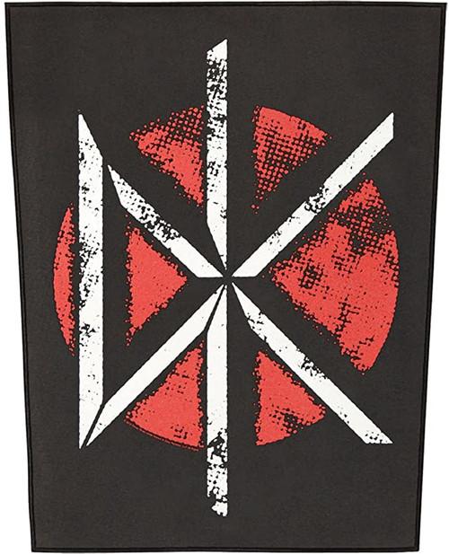 """Dead Kennedys DK Logo - Woven Back Patch 11.25"""" x 14"""""""