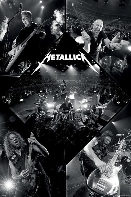 "Metallica Live Poster - 24""x36"""